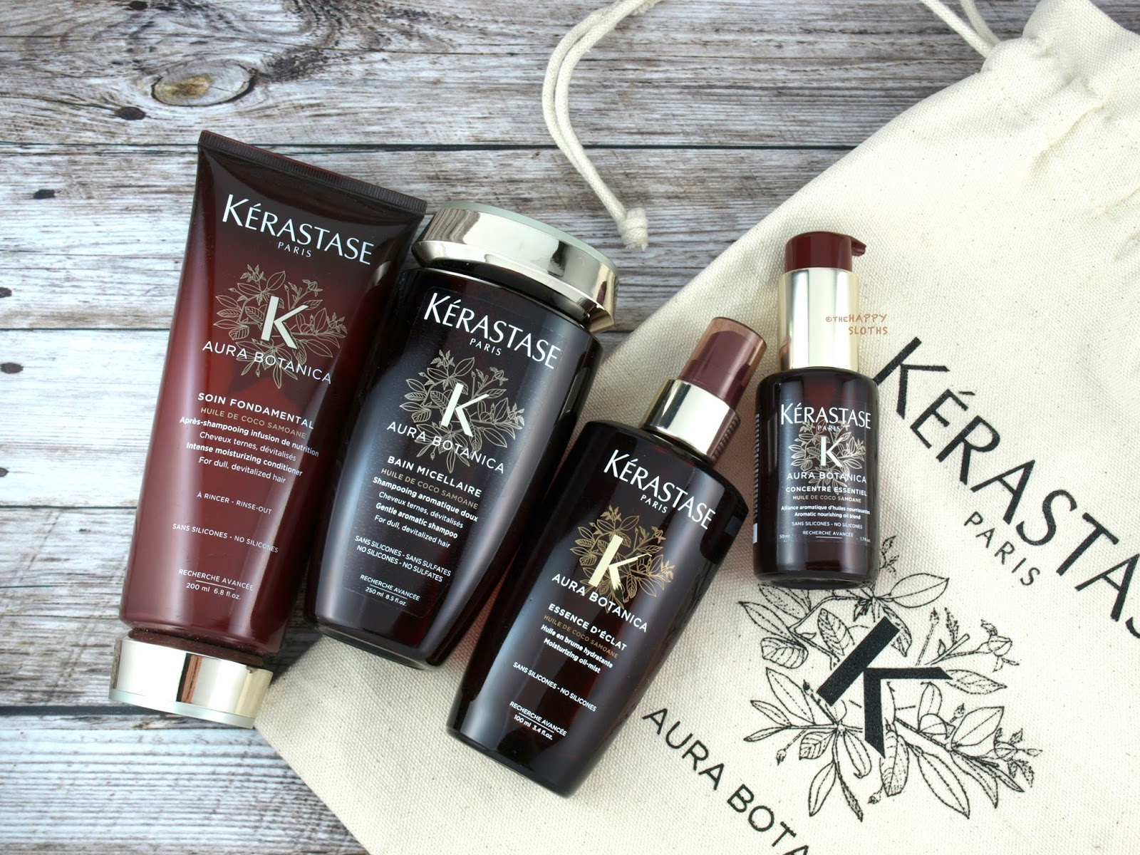 Kerastase Aura Botanica Collection: Review
