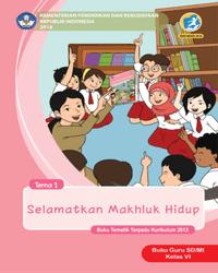 Buku tema 1 Guru Kelas 6 k13 2018