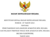 ASN dan PPT Non ASN Dihimbau Update Data Mandiri Tahun 2021, Berikut Ulasannya