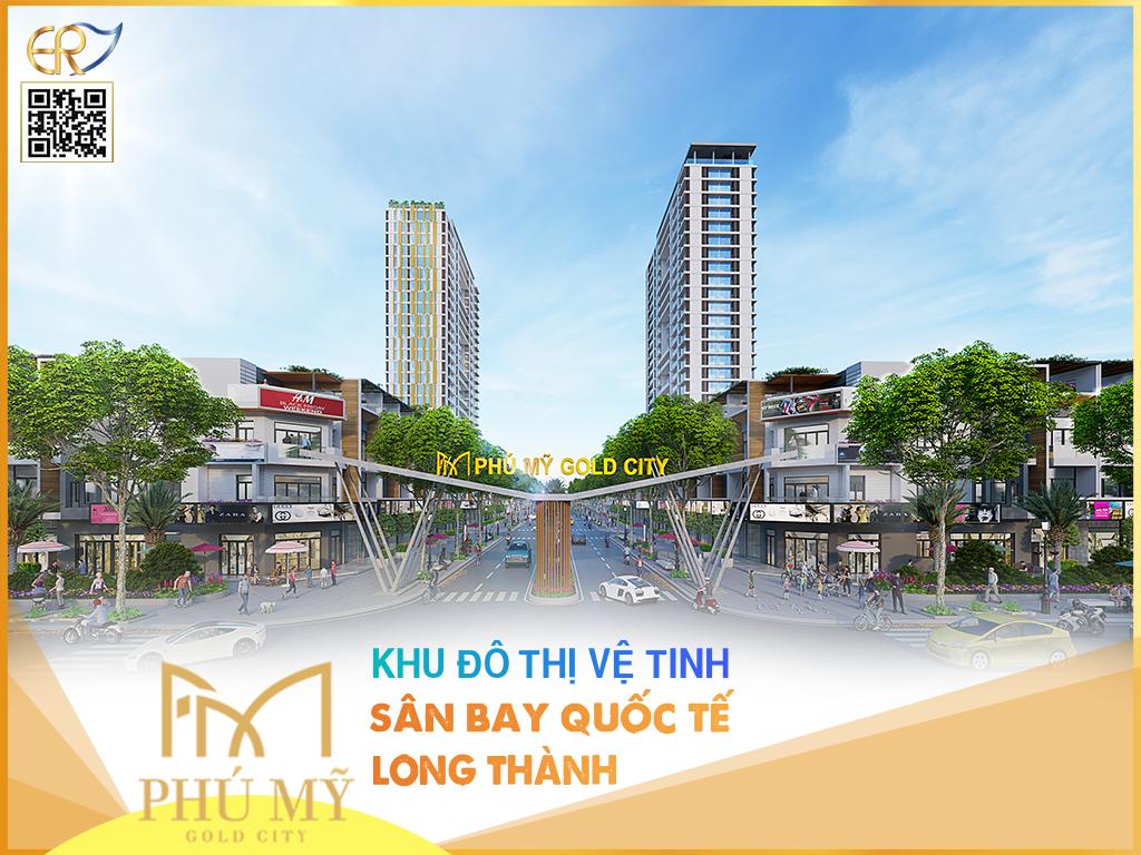 Phối cảnh tổng thể Phú Mỹ Gold City