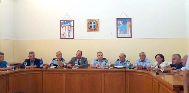 Επίσκεψη του Γενικού Επιθεωρητή Αστυνομίας Νοτίου Ελλάδας, Αντιστράτηγου Ανδρέα Βασιλόπουλου στην Κόρινθο