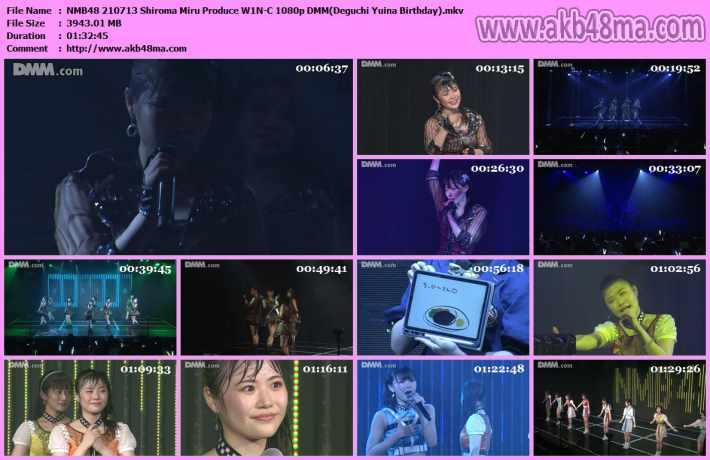 NMB48 210713 Shiroma Miru Produce