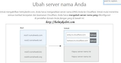 mengkonfigurasi name server