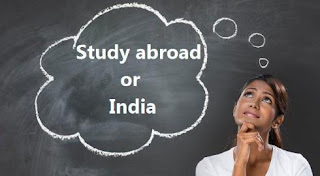 Study In India vs Study Abroad