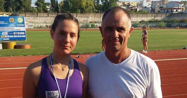 Πρωταθλήτρια Ελλάδας η Ελένη Δήμα του Αριστέα Άργους