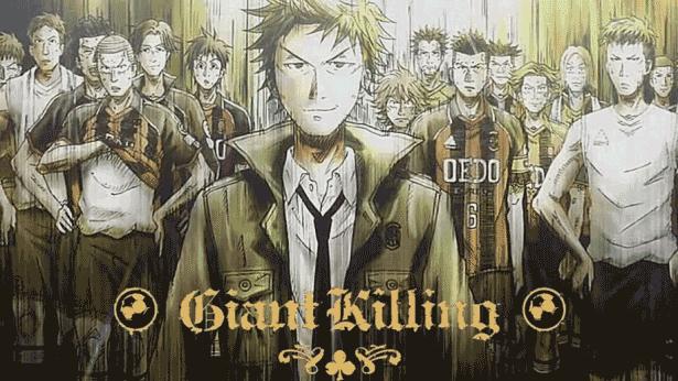 Giant Killing - Daftar Anime Sport terbaik Sepanjang Masa
