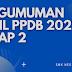 PENGUMUMAN HASIL PPDB 2021 SMKN KOTA BEKASI