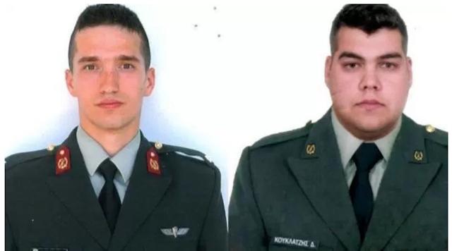 Türkiye'de tutuklanan ve gözaltına alınan iki Yunan