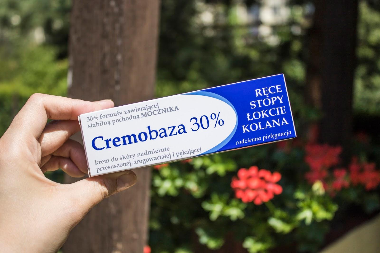 CREMOBAZA 30% - ratunek dla skóry nadmiernie przesuszonej, zrogowaciałej i pękającej