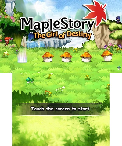 MapleStory The Girl of Destiny 3DS ROM English Patched Cia