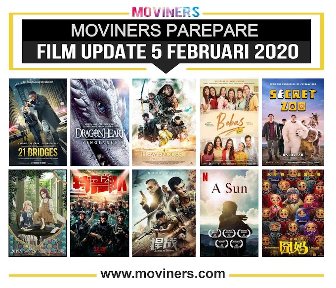 FILM UPDATE 5 FEBRUARI 2020
