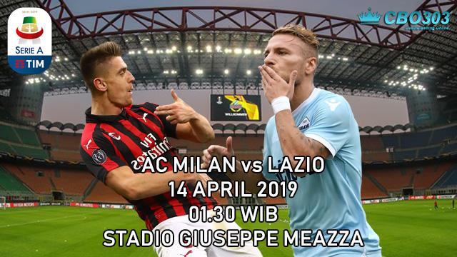 Prediksi Tepat Liga Italia AC Milan vs Lazio (14 April 2019)