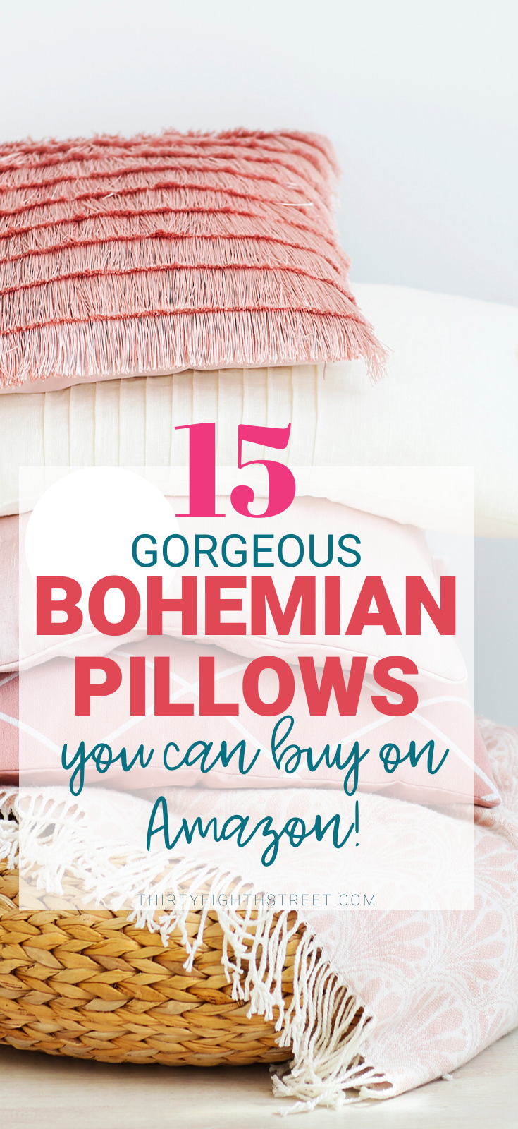 boho, bohemian, bohemian decor, boho decor, throw pillow ideas