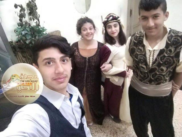 """حسين خليل الأرملة """"الشاب المسرحي الصاعد المتألق"""