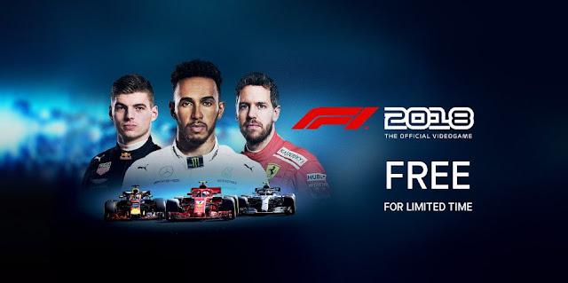 Game F1 2018 PC Gratis Humble Bundle