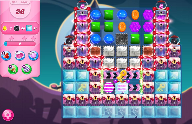 Candy Crush Saga level 5668