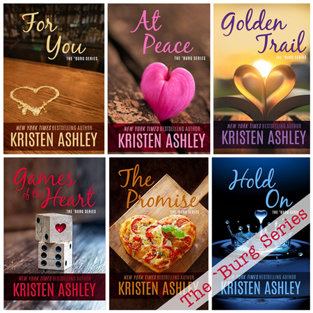 On Sale: The 'Burg Series by Kristen Ashley