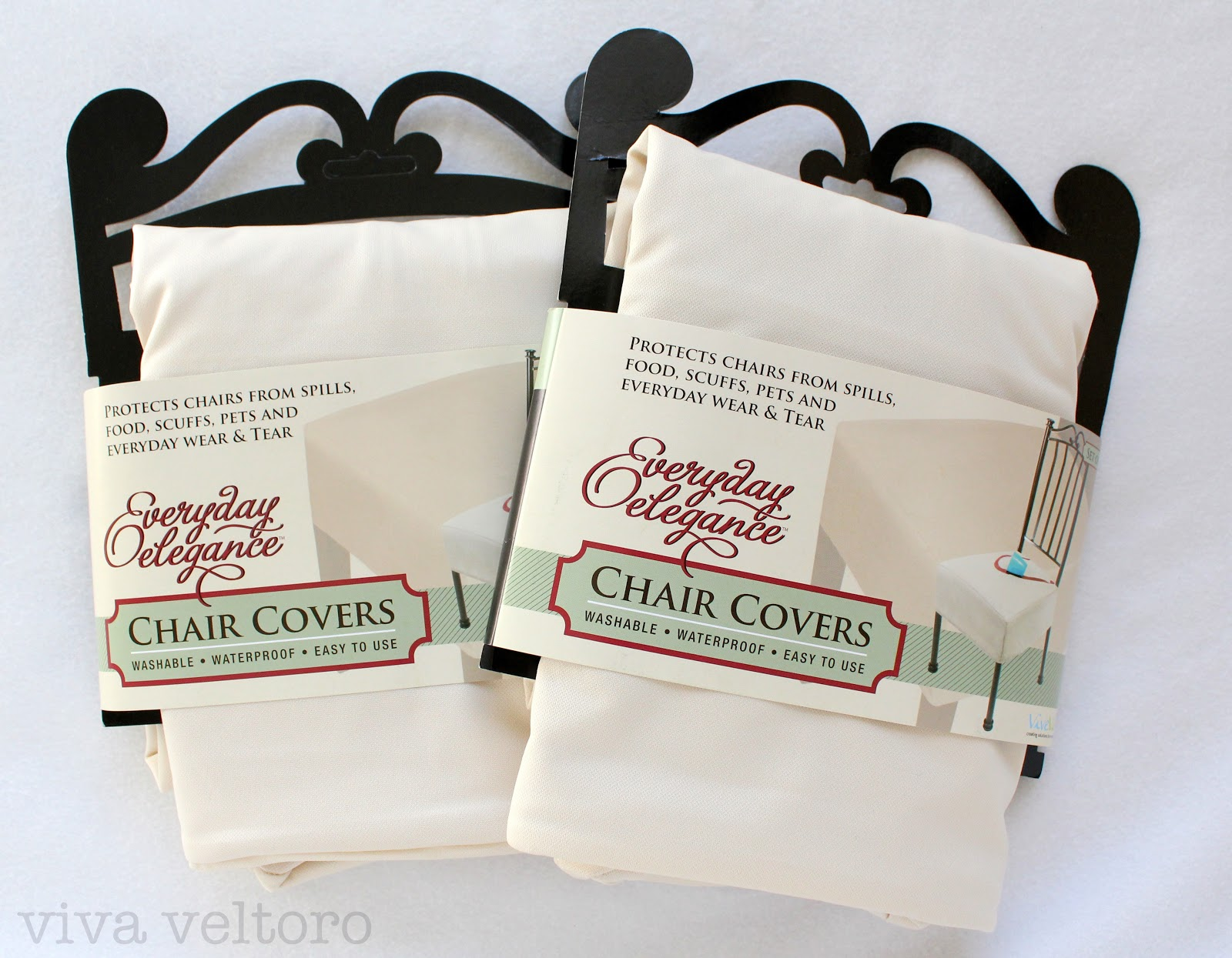 Chair Cover Elegance Floor Mat For Under High Vive Vita Everyday Covers Review Viva Veltoro