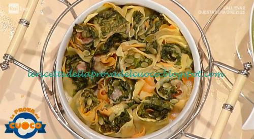 Rosette con zucca rigatino e lattuga ricetta Susanna Badii da Prova del Cuoco