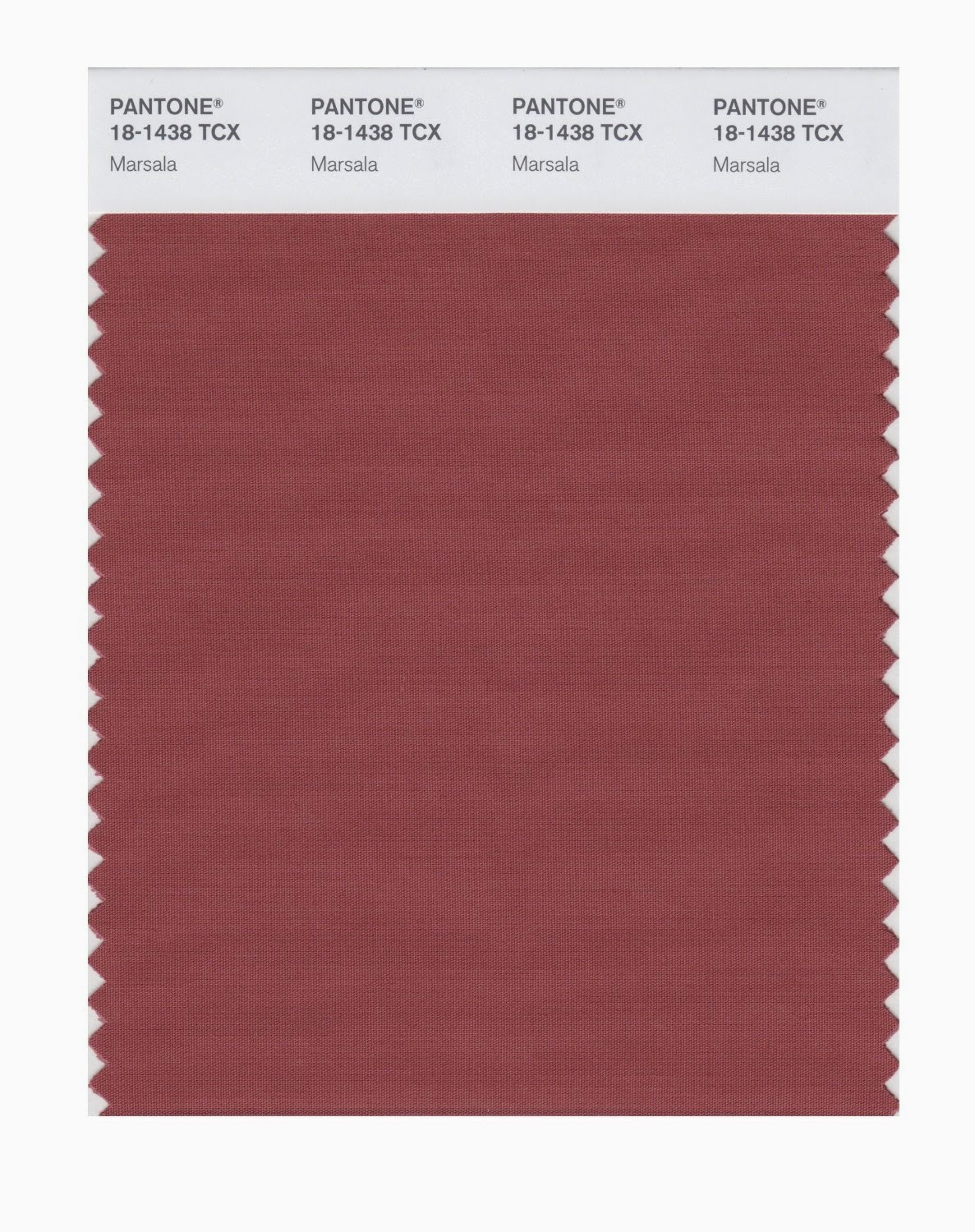 Color 2015 Marsala