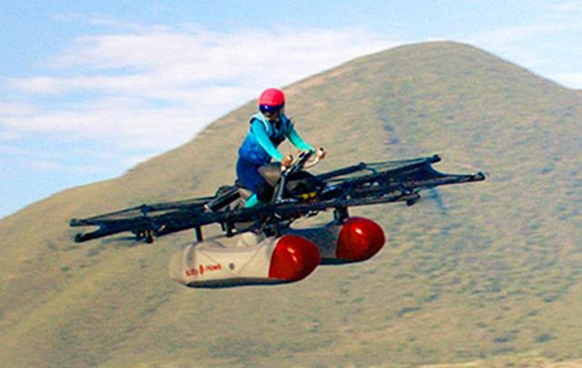 Ini Dia Penampakan Ojek Terbang Buatan Google Untuk Atasi Kemacetan.