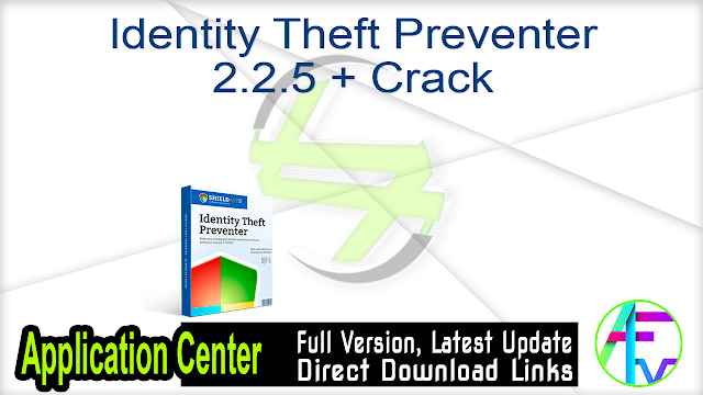 Identity Theft Preventer 2.2.5 + Crack
