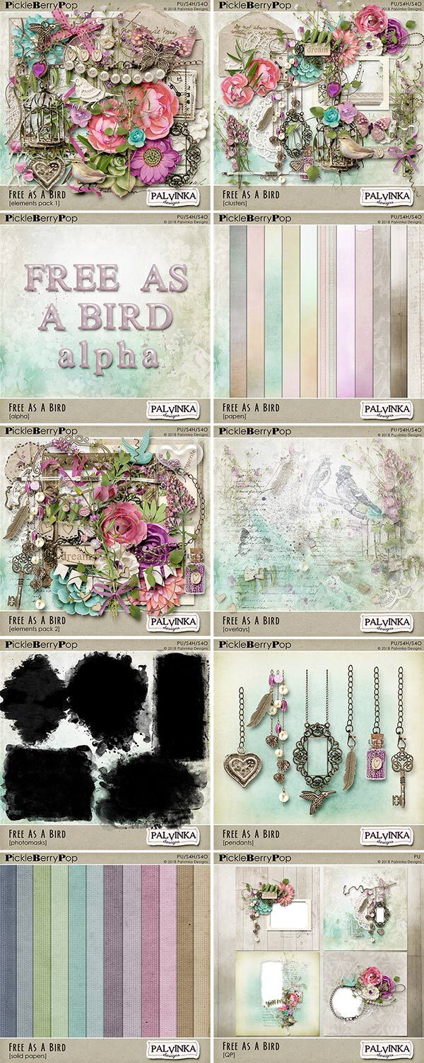 New Pickle Barrel - Free As A Bird collection and Freebie