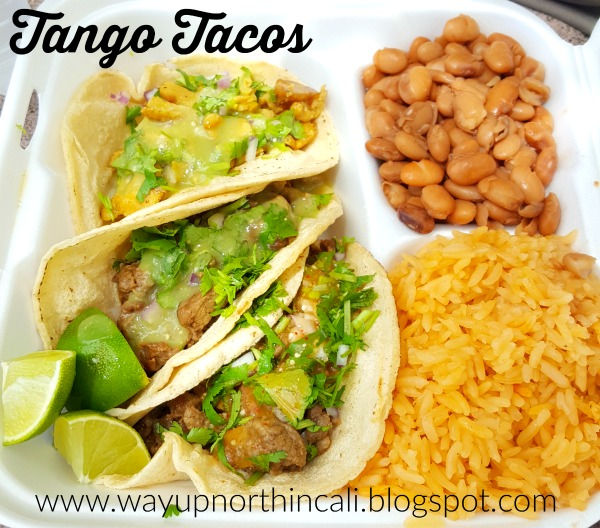 Food Truck Friday: Tango Tacos  Redding, California www.wayupnorthincali.blogspot.com