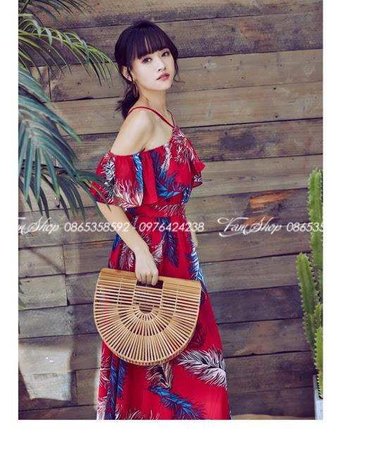 Shop ban vay maxi di bien o Phuong Liet