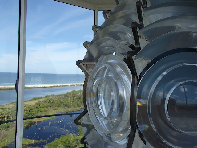 Anclote Key lighthouse lens