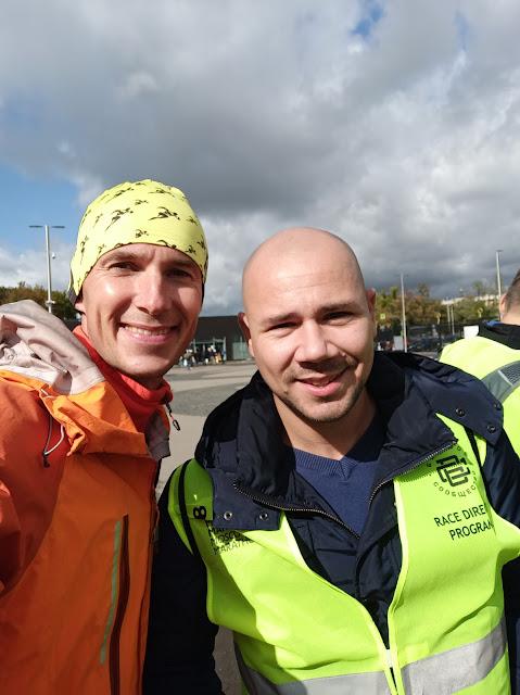 Андрей Думчев и Михаил Шоров - организатор стартов Kavkaz.run