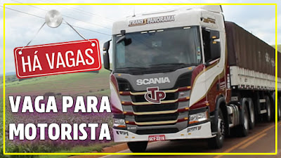 vaga para motorista em Campo Grande
