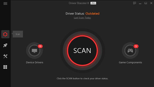 Driver Booster 8 Pro Driver tarama sonuçları