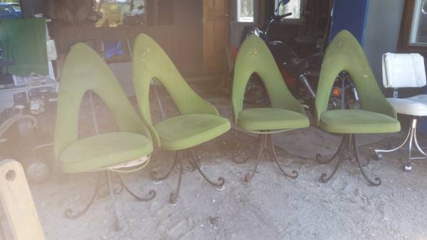This Make Gives Me Weird Feelings Gnomestrollshidden Witches And Forests Vintage Mid Century Modern Chairs Table Iron Base More