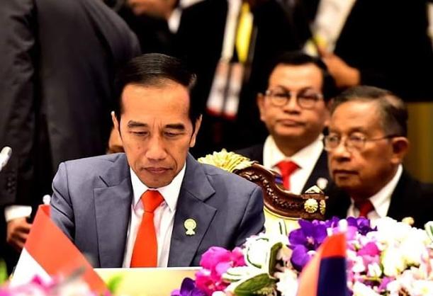 Presiden Jokowi Mendorong Sektor Swasta ASEAN Untuk Mencari Peluang di Tengah Perang Dagang