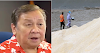 "Atienza re Manila Bay white sand project: ""A complete waste of public funds on a worthless project."""