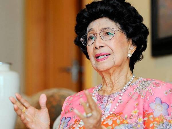 Tun Dr Siti Hasmah kongsi pengalaman sebagai 'survivor' kanser payudara
