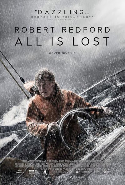 all is lost, drama, adventure, 2013