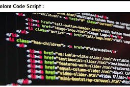Cara Membuat Kolom Kode Script di Blog Mudah, lengkap & Keren