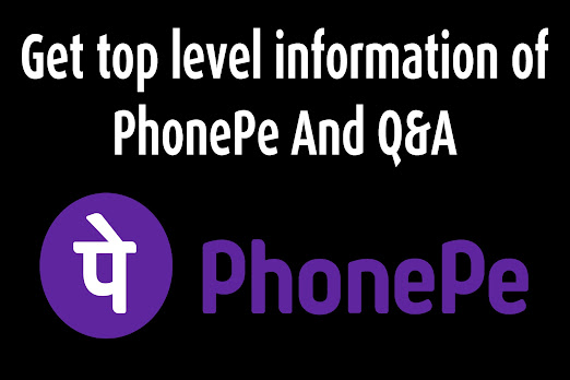 Get top level information of PhonePe And Q&A