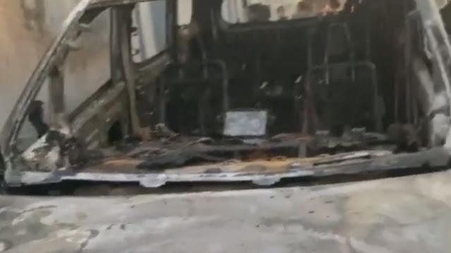 Ada Pesan Misterius Sebelum Mobil Via Vallen Dibakar
