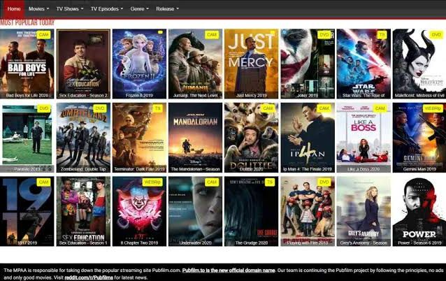 Top 10 subsmovies alternative sites to stream movies online