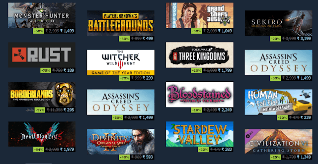 steam sale 2019