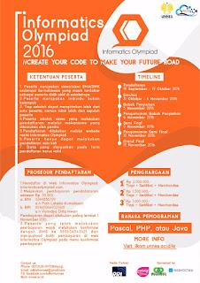 Informatics Olympiad 2016