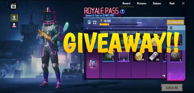 Elite Royal Pass Giveaway