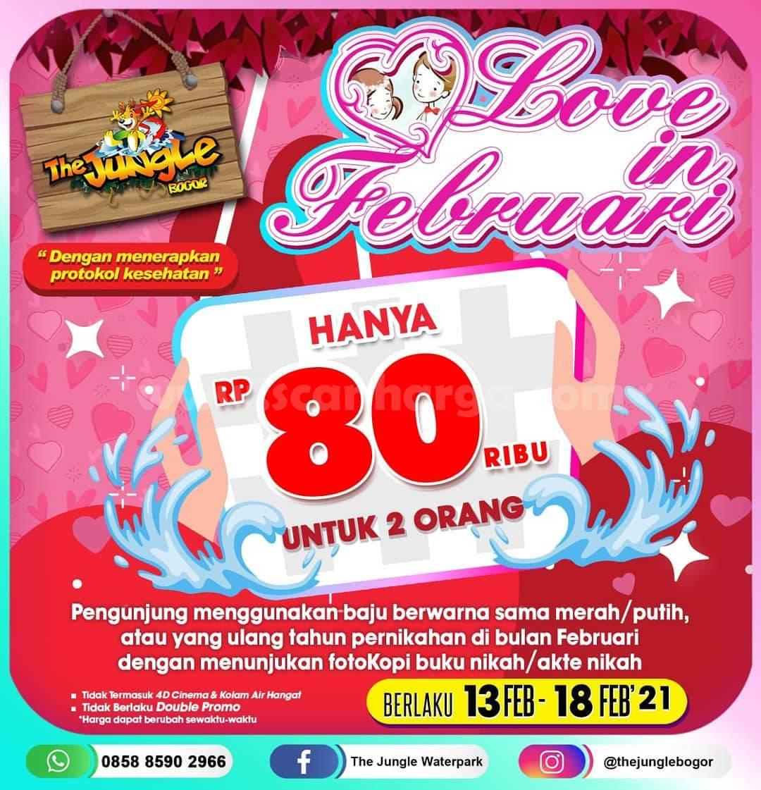 THE JUNGLE Promo TIKET MASUK Cuma Rp 80.000 untuk 2 orang
