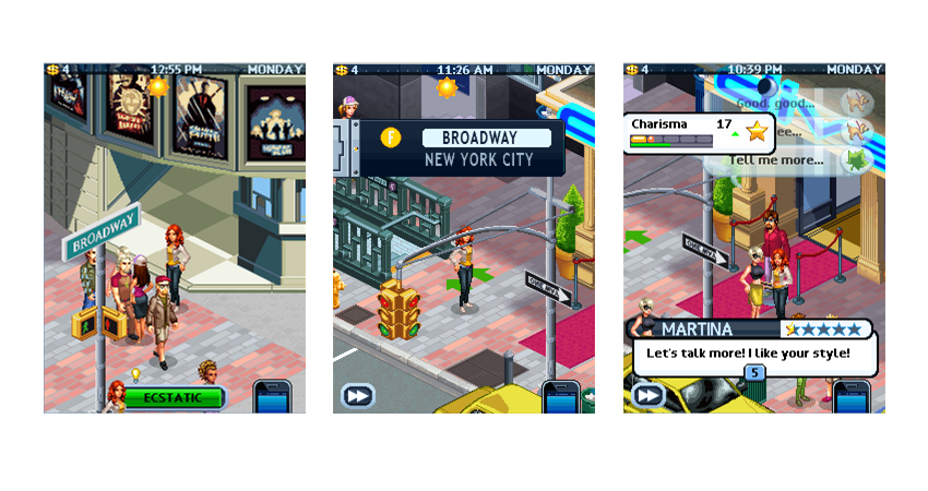 marypeter: My life in New York / Game screenshots / Release