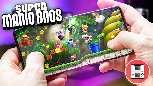 New Super Mario Bros Para Teléfonos Android (ROM NDS)