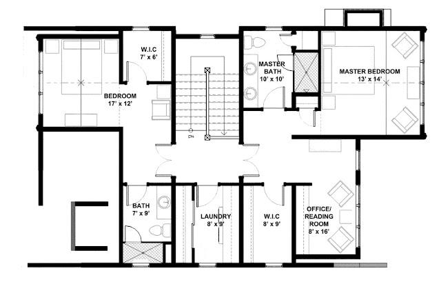 Desain Rumah Sederhana Cat Putih 2 Lantai