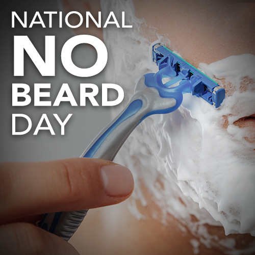 National No Beard Day Wishes For Facebook